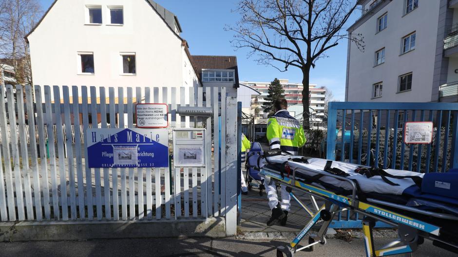 Das Haus Marie in der Oblatterwallstraße ist seit Freitag geschlossen. Die Bewohner mussten in andere Einrichtungen verlegt werden.