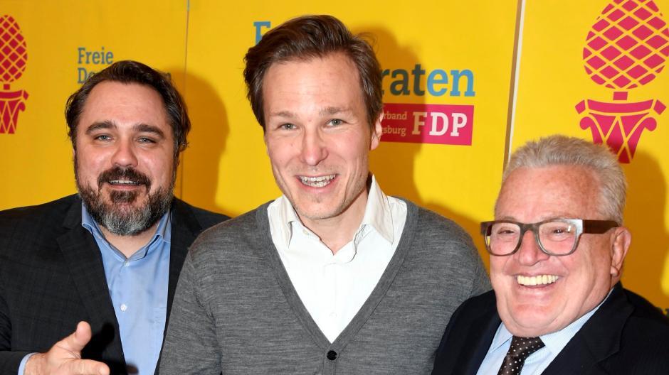 Von links: Daniel Föst, Lars Vollmar und Thomas Sattelberger.