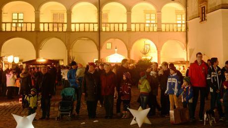 Wegen Umbauarbeiten kann im Dezember 2020 kein Weihnachtsmarkt im Schloss stattfinden.