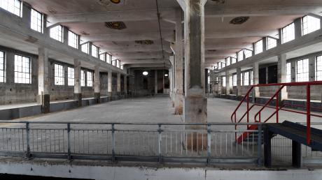 Im Reinigergebäude sollen auf drei Stockwerken Räume für 60 Bands entstehen. Möglich macht das eine Haus-in-Haus Lösung.