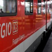 Symbolbild: Auf der Bahnstrecke im Bereich der Haunstetter Straße gab es am Vormittag eine technische Störung.