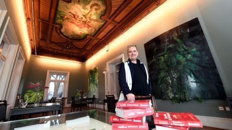 """Christian Grünwald hält für sein """"August"""" in der Haag-Villa in Augsburg zwei Michelin-Sterne."""