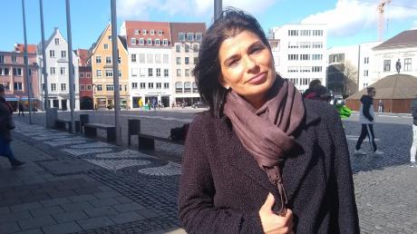 """Will in den Stadtrat, aber nicht mehr für die Vereinigung """"Wir sind Augsburg"""": Marcella Reinhardt, Regionalvorsitzende der Sinti und Roma in Schwaben."""