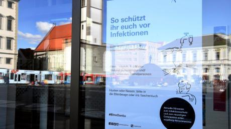 Das Coronavirus wirkt sich auf das öffentliche Leben in Augsburg aus.