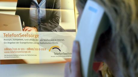 Die Telefonseelsorge verzeichnet seit dem Beginn der Coronakrise wesentlich mehr Anrufe. Viele Menschen treibt die Sorge um die Zukunft um.