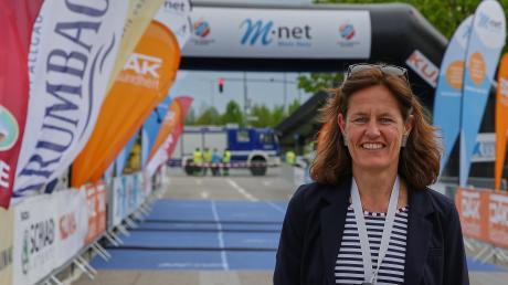 Katja Mayer ist die Organisatorin des Augsburger Firmenlaufs. Wegen des Coronavirus wird er in diesem Jahr verschoben.