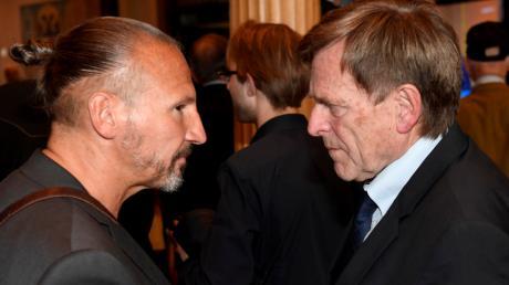 Kommt es in der Stadtrats-CSU zu einer Kampfabstimmung um den Fraktionsvorsitz? Leo Dietz (links) will den Posten, den Bernd Kränzle bisher bekleidet.