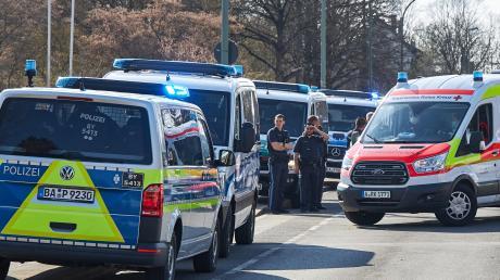 Vor etwa einem Monat musste die Polizei zur Flüchtlingsunterkunft in Göggingen ausrücken. Der gewaltsame Tod eines 15-Jährige löste Betroffenheit aus.