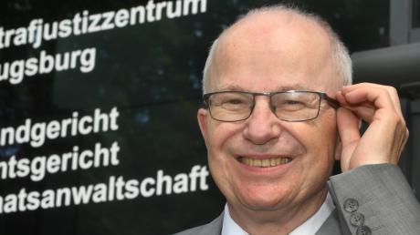 Der Humor habe ihm dabei geholfen, manches leichter zu ertragen, sagt Herbert Veh. Er ist als Landgerichtspräsident jetzt in den Ruhestand gegangen.