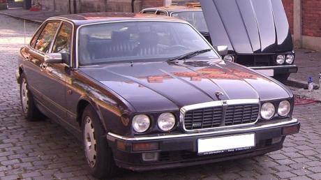 Dieser Jaguar wurde von dem Tatverdächtigen im Fall Maddie McCann benutzt. Einen Tag nach der Tat wurde das Auto in Augsburg zugelassen.