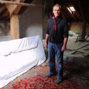 Der Augsburger Alexander Bischof (im Bild) ließ Christian B., den Verdächtigen im Fall Maddie, vor 13 Jahren auf seinem Dachboden übernachten.