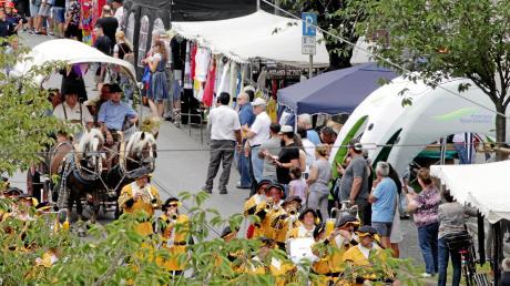 Wenn das Wetter mitspielt, ist beim Marktsonntag Oberhausen eine Menge los. Noch ist offen, ob die Veranstaltung in diesem Jahr eine Chance hat und wenn ja, in welcher Form.