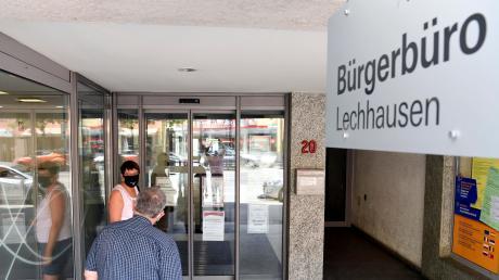 Auch in Lechhausen befindet sich ein Bürgerbüro.