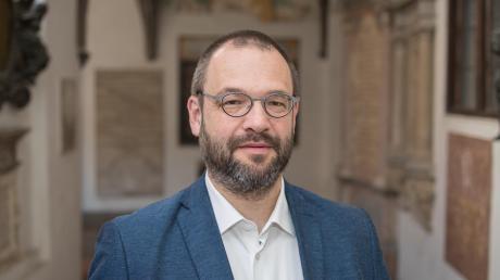 Der evangelische Stadtdekan Michael Thoma ist dankbar, dass er nach überstandener Infektion mit dem Coronavirus wieder seiner Arbeit nachgehen kann.