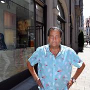 Corona brachte das Aus: Ende August schließt Harald Binder sein Modegeschäft in der Philippine-Welser-Straße in Augsburgs Innenstadt.