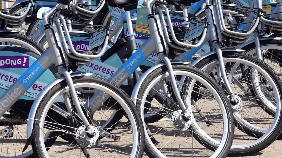 Die Stadtwerke haben ihre Flotte an Leihrädern deutlich ausgebaut.