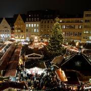 Der Christkindlesmarkt in Augsburg fällt im Jahr 2020 aus. Grund ist die immer größere Zahl an Corona-Neuinfektionen.