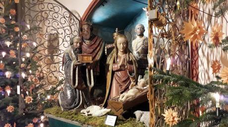 Die Geburt Jesu (hier in der Krippe im Dom) wird trotz Corona gefeiert. Es gibt allerdings ganz andere Angebote.