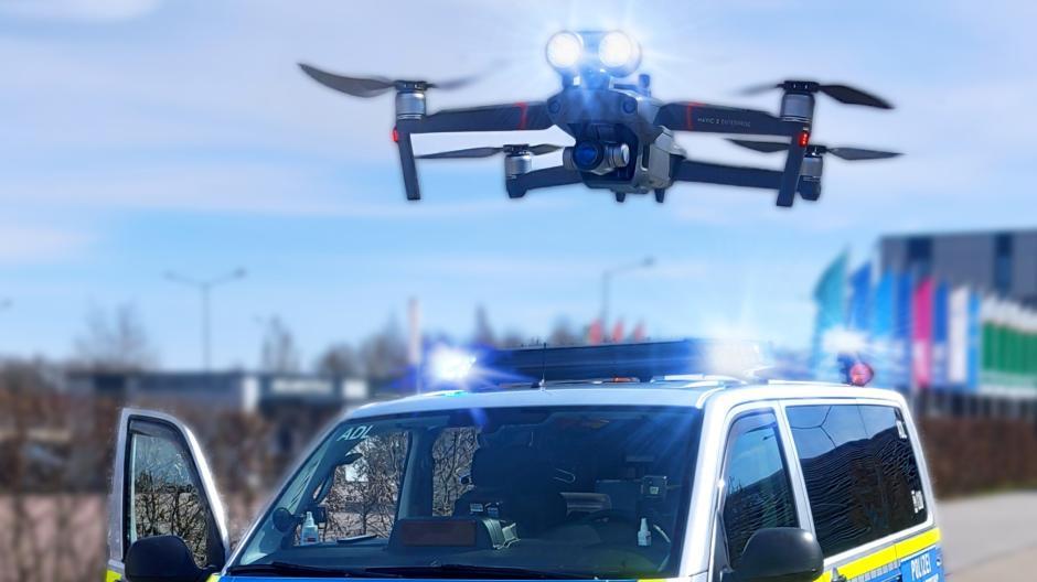 Drohnen sind für die Polizei wertvolle Hilfsmittel bei Einsätzen geworden.