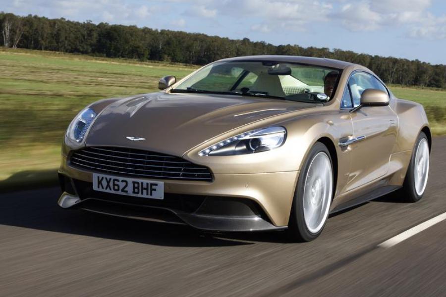 Auto Aston Martin Vanquish Ein Hauch Von Bond Augsburger Allgemeine