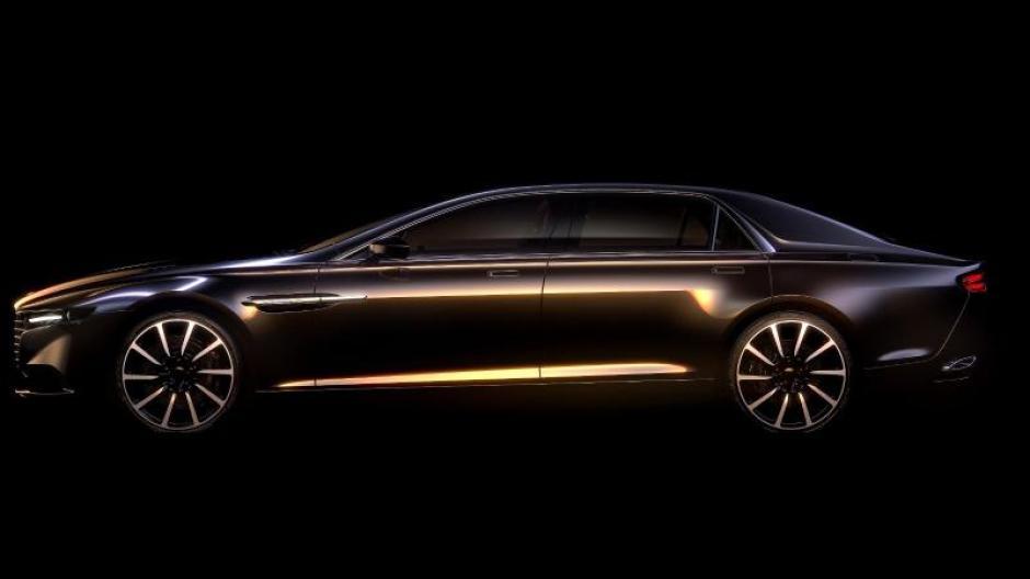 Verkehr Aston Martin Feiert Lagonda Comeback Mit Luxus Limousine Augsburger Allgemeine