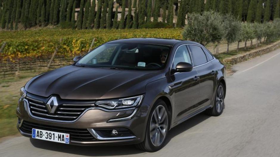Auto Renault Talisman Französisches Savoir Vivre Auto Verkehr