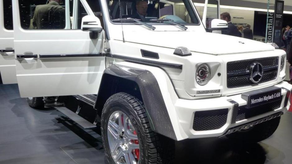 luxus-geländewagen: mercedes-maybach g 650 landaulet kostet 749 700