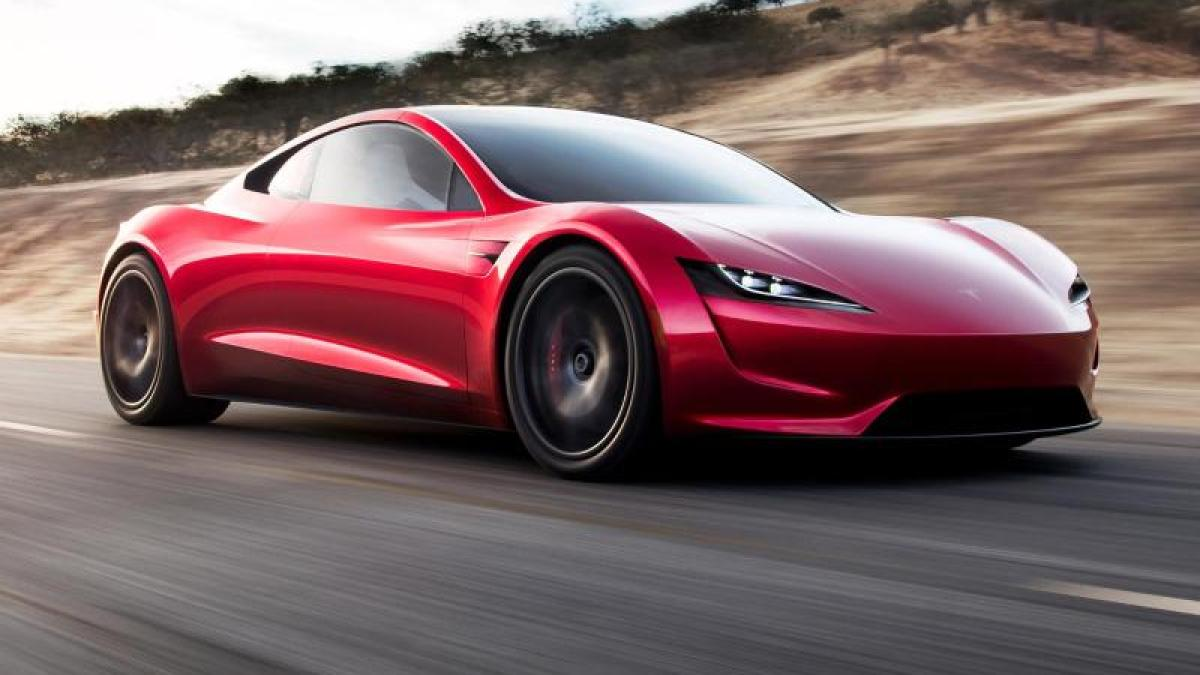 Tesla Das Ist Der Neue 400 Km H Roadster Von Tesla Auto