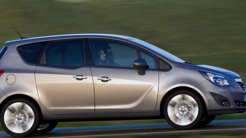 familienauto mit marotten: Ältere jahrgänge des opel meriva erweisen
