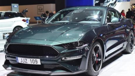 Bullet heißt Geschoss, Bullitt klingt so ähnlich: Die Sonderedition des Ford Mustang ist 341 kW/464 PS stark. Foto: Nicolas Blandin