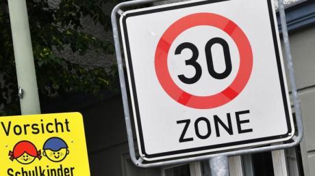 Tempo 30 heißt es bald in verschiedenen Straßen in Ried.