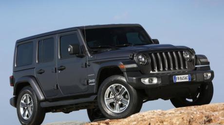 Die vierte Generation des Jeep Wrangler ist ab 46.500 Euro zu haben. Foto: Chrysler