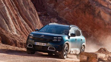 Der Citroën C5 Aircross Blue HDI 180 ist zu Preisen ab 32.890 Euro zu haben. Foto: Citroën
