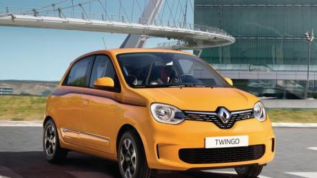 Kleiner Franzose: Für den Renault Twingo wird das erste Facelift erwartet. Foto:Renault