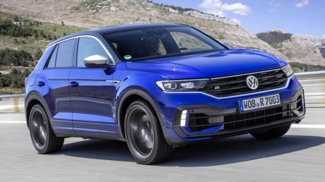 Stärker motorisiert und etwas tiefer als der normale T-Roc: VW bringt das SUV noch in diesem Jahr auch als R-Modell auf den Markt.