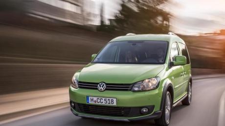 Den Caddy bringt VW seit Jahren in verschiedenen Varianten auf den Markt, unter anderem als rustikal anmutenden Cross Caddy, später Alltrack genannt.