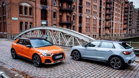Als Citycarver mimt der A1 den Geländegänger, muss aber ohne Allradantrieb auskommen. Foto: Audi AG/dpa-tmn