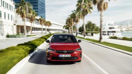 Nicht nur optisch gefälliger - der neue Opel Corsa überzeugt auch mit seinen komfortablen Fahreigenschaften. Foto: Opel Automobile GmbH/dpa-mag