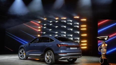 Das SUV-Modell e-tron Sportback ist das zweite Elektroauto von Audi und hat laut Hersteller eine Maximalreichweite von 448 Kilometern.