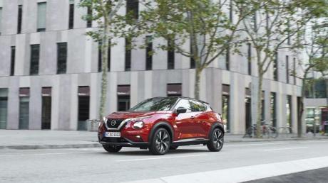 Smarter und geräumiger:Als kleines SUV für den Stadtverkehr soll der Nissan Juke jetzt noch mehr bei Familien punkten.