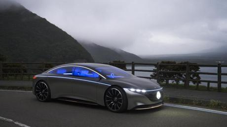 Mit dem EQ S demonstriert Mercedes, wie das Fahren der Zukunft aussehen könnte.