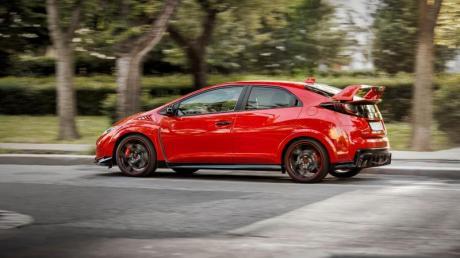 Hot Wok: Das Sportmodell trägt beim Honda Civic den Zusatz «Type R».
