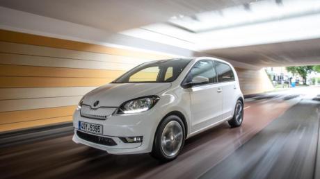 Mit einer Leistung von 61 kW/83 PS bewegt sich der Skoda Citigo iV souverän durch den Stadtverkehr.