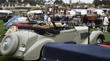 Jeden August wird bei der «Monterey Car Week» ein kleines kalifornisches Fischerdorf zum Zentrum für Klassik-Fans.