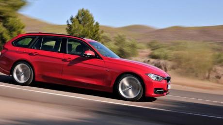 Eine Bank für BMW: Die Modelle der 3er Reihe, darunter auch der Touring genannte Kombi.