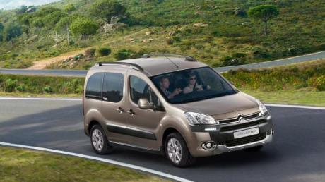 Französische Raumfahrt: Der Citroën Berlingo schluckt bei umgeklappter Rückbank bis zu 2650 Liter.
