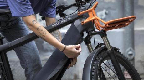 In Dillingen ist der Akku eines E-Bikes gestohlen worden.