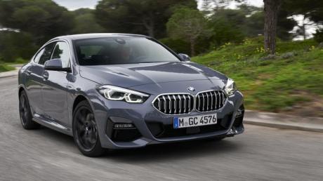 Sportliche Linien, rahmenlose Seitenscheiben: Der BMW 2er GranCoupé legt sein spießiges Image ab.