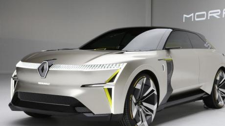 Variabel und spacig: Die Renault-Studie Morphoz kann auf Knopfdruck in die Länge gehen, um so mit Platz für eine weitere Batterie vom Stadt- zum Langstreckenauto zu werden.