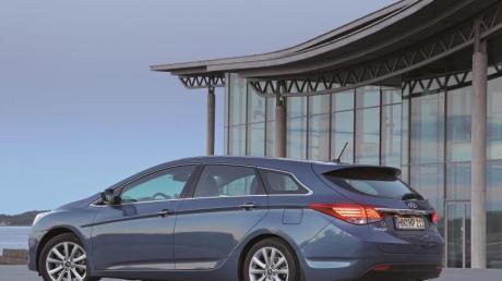 Der Hyundai i40 verkauft sich vor allem als Kombi - die Limousine wurde eingestellt.
